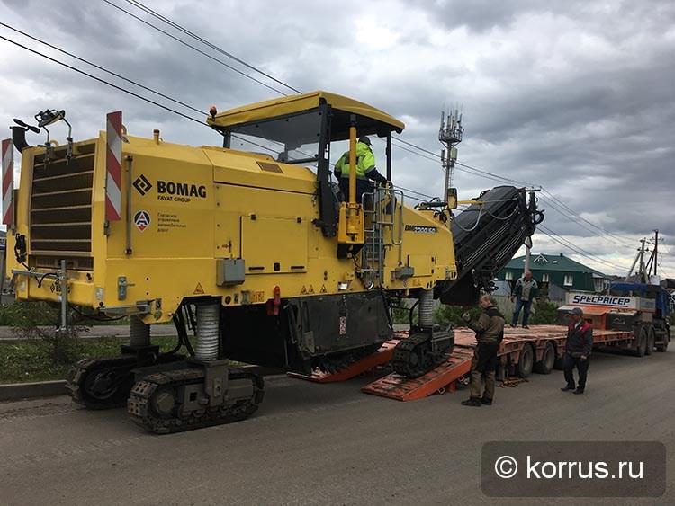 запущена в эксплуатацию новая дорожная фреза BOMAG ВМ2000/60-2