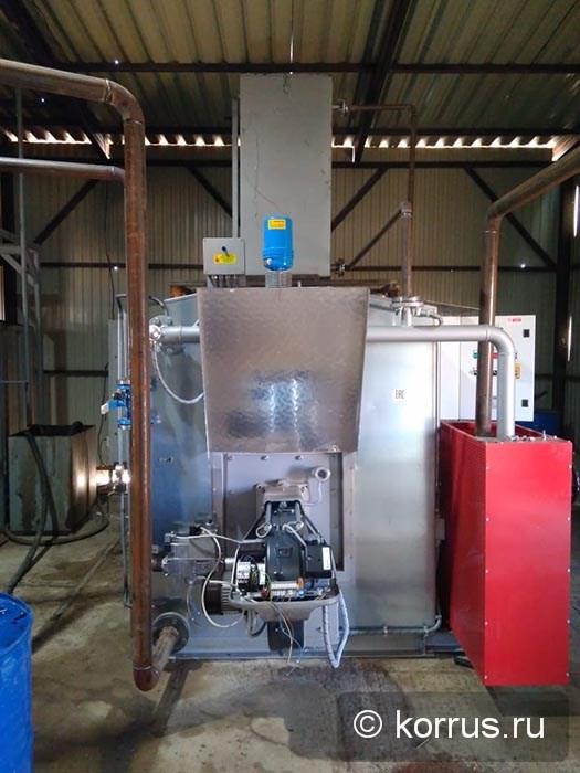маслонагревательная станция MASSENZA модель MG100 с газовой горелкой