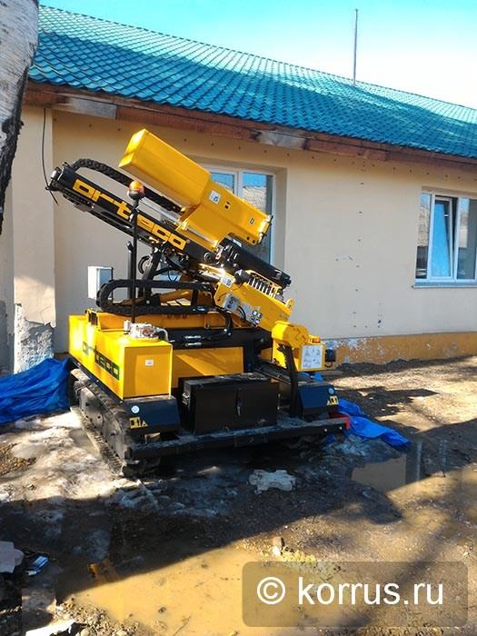 в Иркутской области запущена в работу машина сваебойная ORTECO BTP HEAVY DUTY