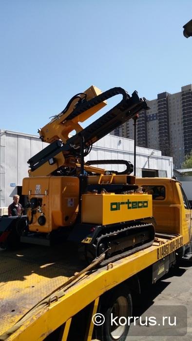самоходная машина ORTECO BTP BASIC с силой удара 830 Дж
